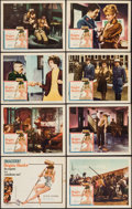 "Movie Posters:Comedy, Babette Goes to War (Columbia, 1960). Lobby Card Set of 8 (11"" X 14""). Comedy.. ... (Total: 8 Items)"