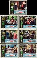 """Movie Posters:Romance, Breakfast at Tiffany's (Paramount, R-1965). Lobby Cards (7) (11"""" X 14""""). Romance.. ... (Total: 7 Items)"""