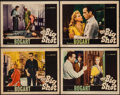 "Movie Posters:Crime, The Big Shot (Warner Brothers, 1942). Lobby Cards (4) (11"" X 14"").Crime.. ... (Total: 4 Items)"