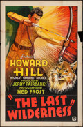 "Movie Posters:Action, The Last Wilderness (DuWorld, 1935). One Sheet (27"" X 41"").Action.. ..."