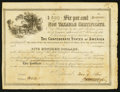 Confederate Notes:Group Lots, Ball 364 Cr. 153 $500 1864 Six Per Cent Non Taxable CertificateVery Fine.. ...