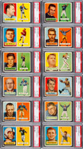 Football Cards:Sets, 1957 Topps Football High Grade Complete Set (154). ...
