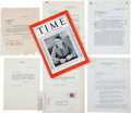 Movie/TV Memorabilia:Autographs and Signed Items, A Sidney Howard Collection of Documents, 1920s-1930s....
