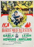 "Movie/TV Memorabilia:Posters, A Collection of Foreign Film Posters from ""Gone With The Wind.""..."