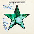 Music Memorabilia:Autographs and Signed Items, The Jesus and Mary Chain Signed Automatic Album Cover(1989)....