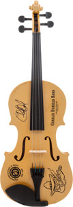 Music Memorabilia:Autographs and Signed Items, Charlie Daniels Signed Limited Edition #3/50 Fiddle....