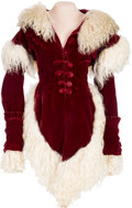 "Movie/TV Memorabilia:Costumes, An Ona Munson Period Fancy Jacket and Muff from ""Gone With TheWind.""..."