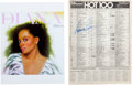 "Music Memorabilia:Autographs and Signed Items, Diana Ross Signed Billboard Chart with ""Endless Love"" atNumber One (1981). ..."