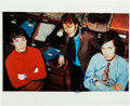 Music Memorabilia:Autographs and Signed Items, Eric Clapton Signed Early Cream Color Photo. ...