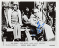 Music Memorabilia:Autographs and Signed Items, Elton John and Bernie Taupin Vintage Signed Individual Photos....