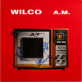 Music Memorabilia:Autographs and Signed Items, Wilco Signed Promotional Flat for the Album A.M. (1995)....