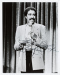 Movie/TV Memorabilia:Autographs and Signed Items, A Richard Pryor Signed Photo. ...
