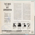 Music Memorabilia:Autographs and Signed Items, The Who My Generation Signed Album (Decca DL- 4664,1966)....