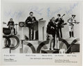 Music Memorabilia:Autographs and Signed Items, Buffalo Springfield Autographed Photo, circa July 1967...