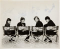 Music Memorabilia:Autographs and Signed Items, Monkees Autographed Photograph...