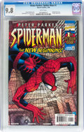 Modern Age (1980-Present):Superhero, Peter Parker: Spider-Man #1 (Marvel, 1999) CGC NM/MT 9.8 Whitepages....