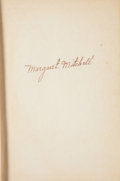 """Movie/TV Memorabilia:Autographs and Signed Items, A Margaret Mitchell Signed Copy of """"Gone With The Wind,"""" 1936...."""