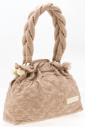 """Luxury Accessories:Accessories, Louis Vuitton Beige Monogram Leather Olympe Bag. Good to Very Good Condition. 13"""" Width x 10"""" Height x 4"""" Depth. ..."""