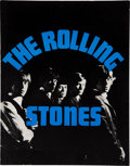 Music Memorabilia:Autographs and Signed Items, Rolling Stones Signed 1964 US Tour Program....