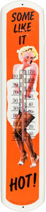 Movie/TV Memorabilia:Memorabilia, A Marilyn Monroe Collectible Outdoor Thermometer, Circa 1970s....