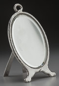 Silver Holloware, American:Vanity, A TIFFANY & CO. SILVER VANITY MIRROR, New York, New York, circa1881-1891. Marks: TIFFANY & CO., 6474, MAKERS, 3597,STERL...