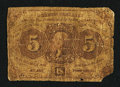 Fractional Currency:First Issue, Fr. 1231 5¢ First Issue Good.. ...