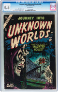 Golden Age (1938-1955):Horror, Journey Into Unknown Worlds #26 (Atlas, 1954) CGC VG+ 4.5 Off-whitepages....
