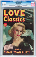"Golden Age (1938-1955):Romance, Love Classics #2 Davis Crippen (""D"" Copy) pedigree (Marvel, 1950) CGC VF/NM 9.0 Off-white to white pages...."