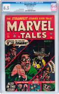 Golden Age (1938-1955):Horror, Marvel Tales #114 (Atlas, 1953) CGC FN+ 6.5 Off-white pages....