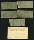 Miscellaneous:Other, National Bank Bill and Currency Adhesive Paper.. ...