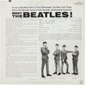 Music Memorabilia:Autographs and Signed Items, Beatles Signed Meet The Beatles LP Obtained on February 9,1964, by George Harrison's Doctor (Capitol T 2047, 1964...