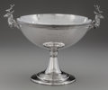 Silver Holloware, American:Bowls, A GORHAM SILVER FIGURAL TROPHY CUP, Providence, Rhode Island, circa1969-1970. Marks: (lion-anchor-G), STERLING, 190, B...