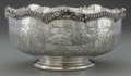 Silver Holloware, American:Bowls, A METCALF SILVER FOOTED TROPHY BOWL, Providence, Rhode Island,circa 1906. Marks: THE METCALF COMPANY, STERLING. 5-1/4 i...