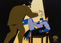 Animation Art:Production Cel, The New Batman/Superman Adventures Production Cel (WarnerBrothers, 1998).... (Total: 2 Items)