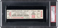 Football Collectibles:Tickets, 1962 NFL Championship Game Packers Vs. Giants Full Ticket PSA PR 1 - Only Known Example!...