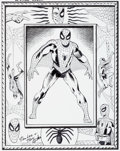 Original Comic Art:Splash Pages, Bruce McCorkindale Amazing Spider-Man Pin-Up Re-CreationOriginal Art (2012)....