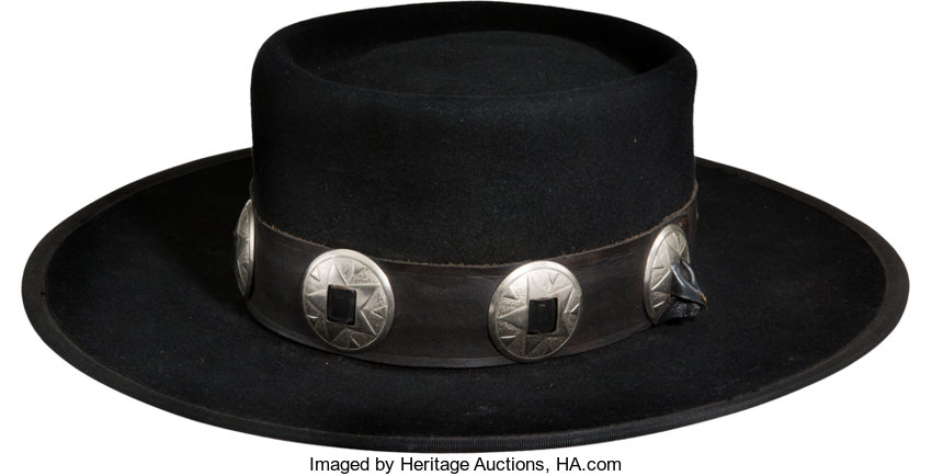 Music Memorabilia:Costumes, Stevie Ray Vaughan Texas Flood Promotional Hat (Epic Records,<br>1983)....