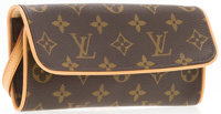 "Louis Vuitton Classic Monogram Pochette Twin GM Bag Excellent Condition 7.5"" Width x 4"" Height x"