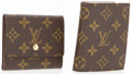"Luxury Accessories:Accessories, Louis Vuitton Set of Two; Monogram Canvas Photo Holder &Notepad. Very Good to Excellent Condition. Photo Album:4"" Wi..."