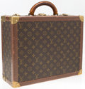 "Luxury Accessories:Accessories, Louis Vuitton Classic Monogram Canvas Alzer 45 Hardsided Trunk.Good Condition. 16"" Width x 12"" Height x 5.5""Depth..."