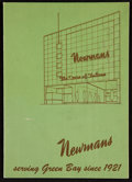 Football Collectibles:Publications, 1949 Newmans Department Store Green Bay Packers Promotional Booklet....