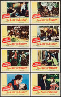 """Movie Posters:Adventure, The Lady and the Bandit (Columbia, 1951). Lobby Card Set of 8 (11""""X 14""""). Adventure.. ... (Total: 8 Items)"""