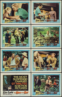 "The Man in the Net & Other Lot (United Artists, 1959). Lobby Card Sets of 8 (2) (11"" X 14""). Mystery..."