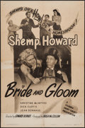 """Movie Posters:Comedy, Bride and Gloom (Columbia, 1947). One Sheet (27"""" X 41""""). Comedy....."""