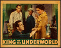"Movie Posters:Crime, King of the Underworld (Warner Brothers, 1939). Linen Finish LobbyCard (11"" X 14""). Crime.. ..."