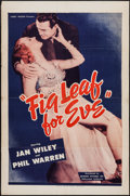 "Movie Posters:Drama, A Fig Leaf for Eve (Belmont Pictures, 1944). One Sheet (27"" X 41""). Drama.. ..."
