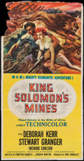 "Movie Posters:Adventure, King Solomon's Mines & Others Lot (MGM, 1950). Three Sheets(11) (approx. 41"" X 79""). Adventure.. ... (Total: 11 Items)"