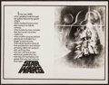 "Movie Posters:Science Fiction, Star Wars (20th Century Fox, 1977). Advertising Concept Art Sheet (11"" X 14""). Science Fiction.. ..."