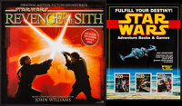 Star Wars: Episode III - Revenge of the Sith & Others Lot (Sony BMG Music Entertainment, 2005). Soundtrack Poste...