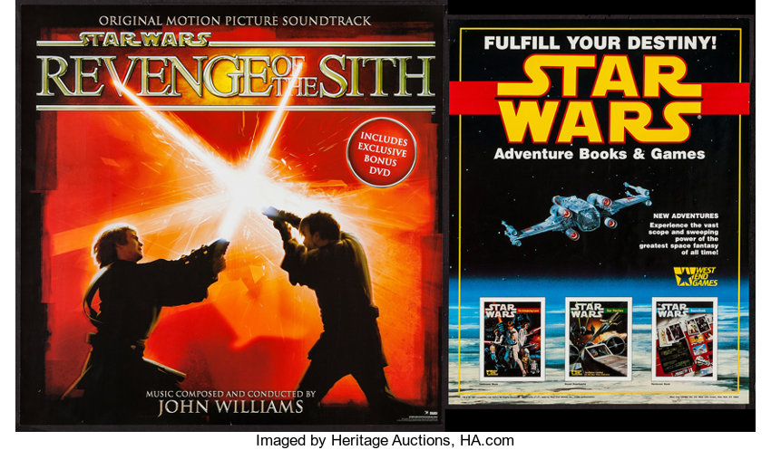 Star Wars Episode Iii Revenge Of The Sith Others Lot Sony Bmg Lot 54381 Heritage Auctions